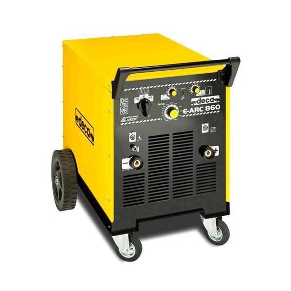 MMA DC трансформатор индустриальный с электронной регулировкой тока  DECA MMA E-ARC 860 DC
